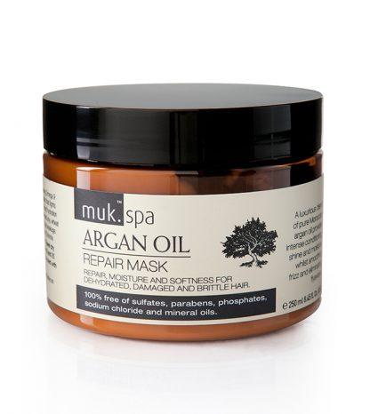 Vyživujúca hydratačná maska na vlasy spa Argan Oil