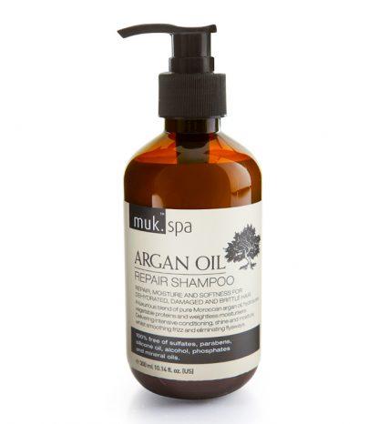 opravný hydratačný šampón s arganovým olejom